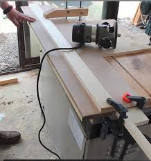 how to joint a board with a router