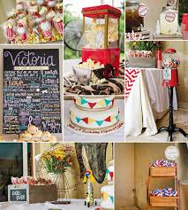 Rustic Vintage Carnival Baby Shower Ideas
