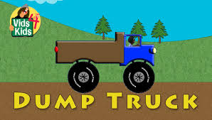 Monster Dump Truck - Learn To Spell Dump Truck For Kids | Jack Jack ...