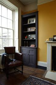 Living Room Painted In Farrow Ball India Yellow Mahogany Old White And Off