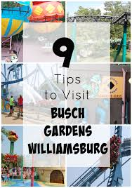 9 Tips to Visit Busch Gardens Williamsburg VA