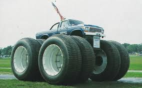100 Bigfoot 5 Monster Truck BIGFOOT With Dual Tundra Tires BIGFOOT 4X4X4 Pinterest