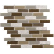 shop elida ceramica florence linear mosaic and glass marble