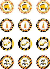 Construction Truck Cupcake Toppers, Dump Truck Birthday Party ... Cstruction Party Cake Dump Truck Dump Truck Birthday Party Boy Second Birthday Cstruction With Free Printable Printables Favorsdump Craycstruction 40 Stickers For Lollipops Favor Boxes Toy 12 Best Inspiration Images On Dumptruck Treat Stands Cones Orientaltradingcom 14 Invitations Many Fun Themes 1st Invitation Banner Decor