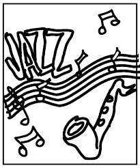 Jazz Coloring Pages For Cooloring