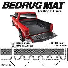 BMC07SBD BEDRUG Carpet Bed Liner Mat Silverado / Sierra 6'6