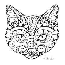 Full Image For Cat And Dog Together Coloring Pages Colouring