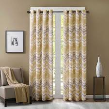 Target Yellow Chevron Curtains by Yellow Chevron Drapes U2014 Prefab Homes Hippie Chic Decorating With