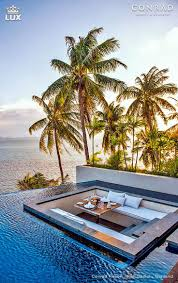 100 Conrad Island Koh Samui Resort Spa In Thailand Is Surrounded By A