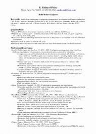 Create Configuration Management Resume Examples Political Science Skill Luxury