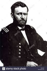 ULYSSES S GRANT 18th President Of The USA Here As A General In Civil War