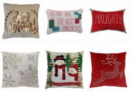 Adorable Christmas Throw Pillows As Low As $10 60 At Kohl s