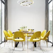 luxus moderne esszimmer interieur premium foto