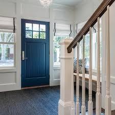 Navy Front Door Design Ideas