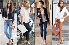 Black White Women Blazer Fashion Style