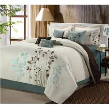Bed Skirts Queen Walmart by Chic Home 21 82 Q 01 Us Bliss Garden 12 Piece Bed In A Bag
