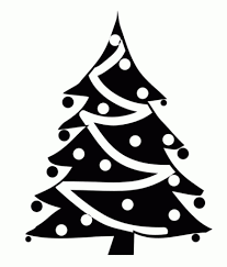 Baby Nursery Christmas Decorations Clipart Black