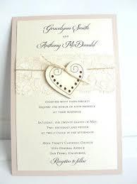 Two Hearts Wedding Invitations Heart Invitation Glitter Invite Wood Rustic Vintage