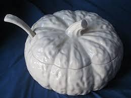 Pumpkin Soup Tureen Recipe by Yes Soup For You Indigo Tilt