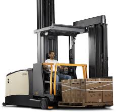 100 Turret Truck Very NarrowAisle Forklifts TSP Crown Equipment