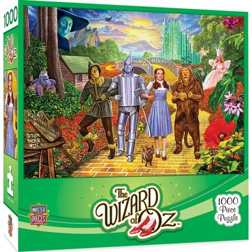 Masterpieces Off To See the Wizard Jigsaw Puzzle - 1000pcs