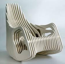 100 Plywood Rocking Armchair Mamulengo By Eduardo Baroni Moderne Stole Hvor Innovation Mdes Tradition