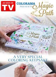 Magic Path Coloring Book Colorama Carolwrightgifts