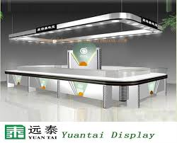 Modern Jewelry Display Counter For Jewellery Showroom Design