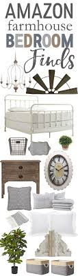Farmhouse Bedroom Decor Finds From Amazon