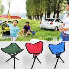 si e pliant portable cing randonnée pliant pliable tabouret trépied chaise