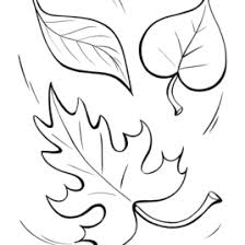 Trees Without Leaves Coloring Pages Fall Leaf Happy Tree