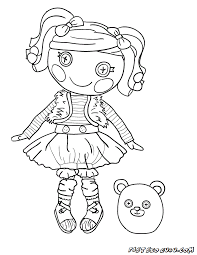 Coloring Pages Lalaloopsy Make A Photo Gallery Books