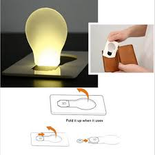 Battery Operated Lava Lamp Nz by Aliexpress Com Buy Portable Led Card Pocket Light Bulb Lamp