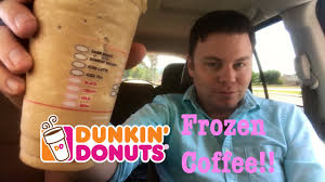 Pumpkin Swirl Iced Coffee Dunkin Donuts by New Frozen Coffee Dunkin U0027 Donuts Review The Showstopper Shows