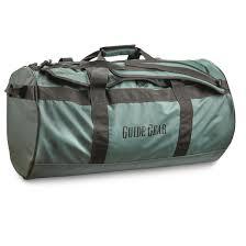 Guide Gear Waterproof Duffel Bag 90 Liters Gear