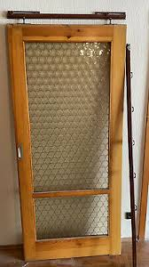 wohnzimmertür mit glasfenster bucheoptik eur 1 00