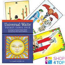 Universal Waite Tarot Deck Instructions by Universal Waite Pocket Tarot Deck Ebay