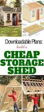 8x6 Wood Storage Shed by Best 25 Cheap Wooden Sheds Ideas On Pinterest Stroller Storage