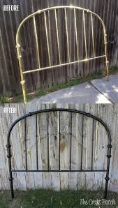 Antique Wrought Iron King Headboard by Best 25 Brass Headboard Ideas Only On Pinterest Iron Headboard