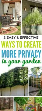 1347 Best Landscaping DIY Images On Pinterest | Backyard Fences ... Ideas For Outdoor Privacy Screens Green Grass Extra Wide Back Garden Ideas 2833 Hostelgardennet 11 Ways To Create A More Relaxing Backyard Patio Spanish Style Cover Designs Choosing Bold Color Your Shed Old Brand New The Growers Daughter Front Yard Landscape Ask The Expert How Use Plants In City Garden Audzipan Anthology Pergola Oakley Our Land Organics With Trellis Better Homes And Gardens Best 25 Cheap Fence On Pinterest Panels