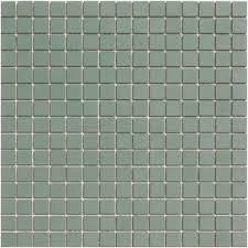 lyric unglazed porcelain rectified edge mosaic tile in herbal