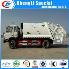 12cbm Urban Garbage Compactor Truck 12000l Waste Compressed Truck ...