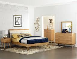 Platform Bedroom Set by Homelegance Anika Platform Bedroom Set Light Ash B1915 1