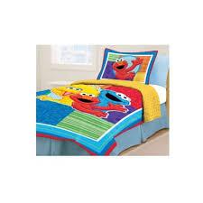 Elmo Toddler Bed Set by Sesame Street Twin Bed Set