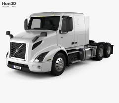 100 Tractor Truck Volvo VNR 400 2018 3D Model Vehicles On Hum3D