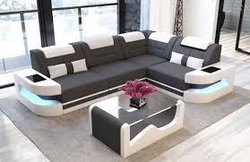 100 Sofa Modern Fabric Denver L Shape