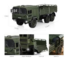 100 Rc Army Trucks Helifar HB NB2805 1 16 Military RC Truck 4599 Free Shipping