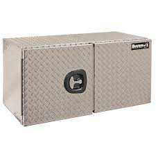Buyers Products Company 60 In. Aluminum Barn Door Style Underbody ... Alinum Truck Tool Boxes Equipment Accsories The Husky 70 In Topsider Black Lowprofile Boxthd70lpb 713 X 205 176 Matte Full Size Dewalt Tstak Vi 17 Deep Box Boxdwst17806 Home Depot Lund 53 In Gun 8227 With Wheel 26 Plastic With Metal Latches Black235580 37 Mobile Job Utility Cart Black209261 Portable Storage Homak 20 Handcarry Redrd120004 18 Drawer Chest Trucks Or Midsize Cargo Management