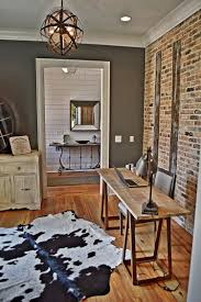 100 Brick Walls In Homes Office With Exposed Brick Wall Iron Point Terior