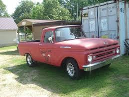 1962 Ford Unibody Pickup---shop Truck--hot Rod--rat Rod--project ...